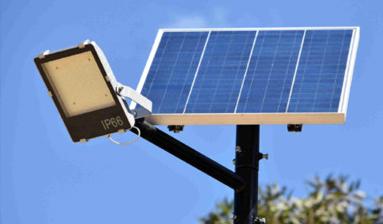 ضوء بالطاقة الشمسية